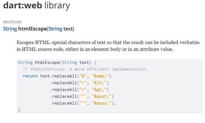 htmlescape