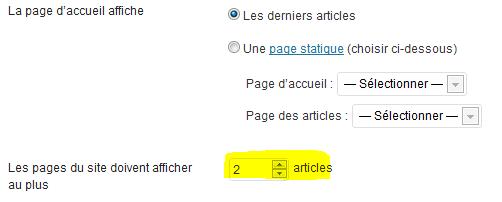 Nombres d'articles